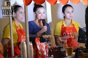 Diana ibarra Lanzamiento Café Latitud Costa Rica