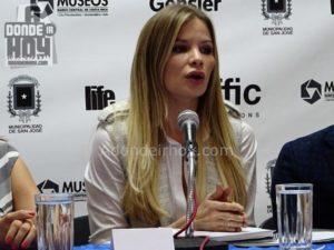 Leonora Jiménez Conferencia de Prensa Traffic Museum 2016