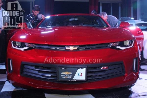 Camaro Celebra su 50 Aniversario con el Modelo 2017