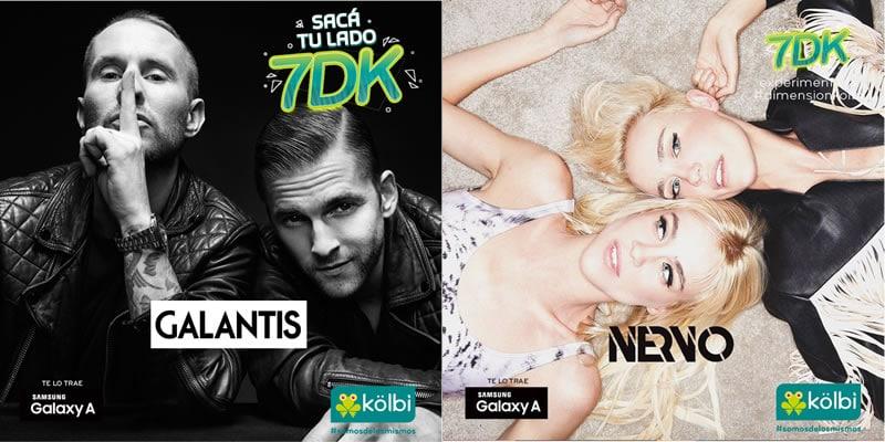 7DK trae a Nervo y Galantis para celebrar el Cumpleaños de Kölbi