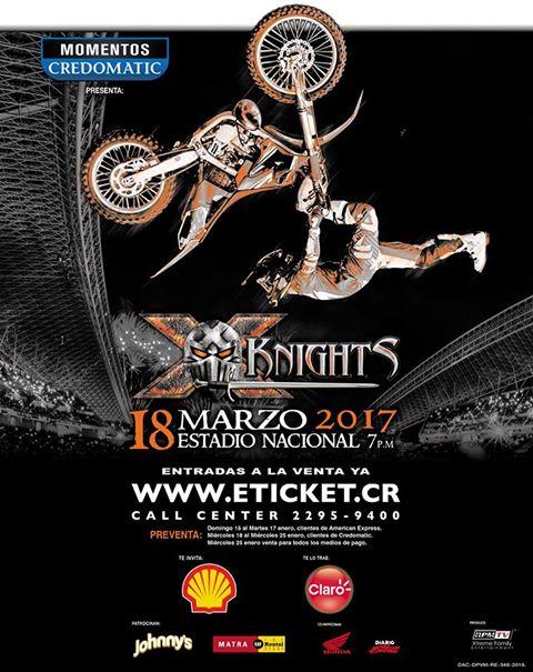 X-Knights 2017 Vuelve la Adrenalina de Motores al Estadio Nacional