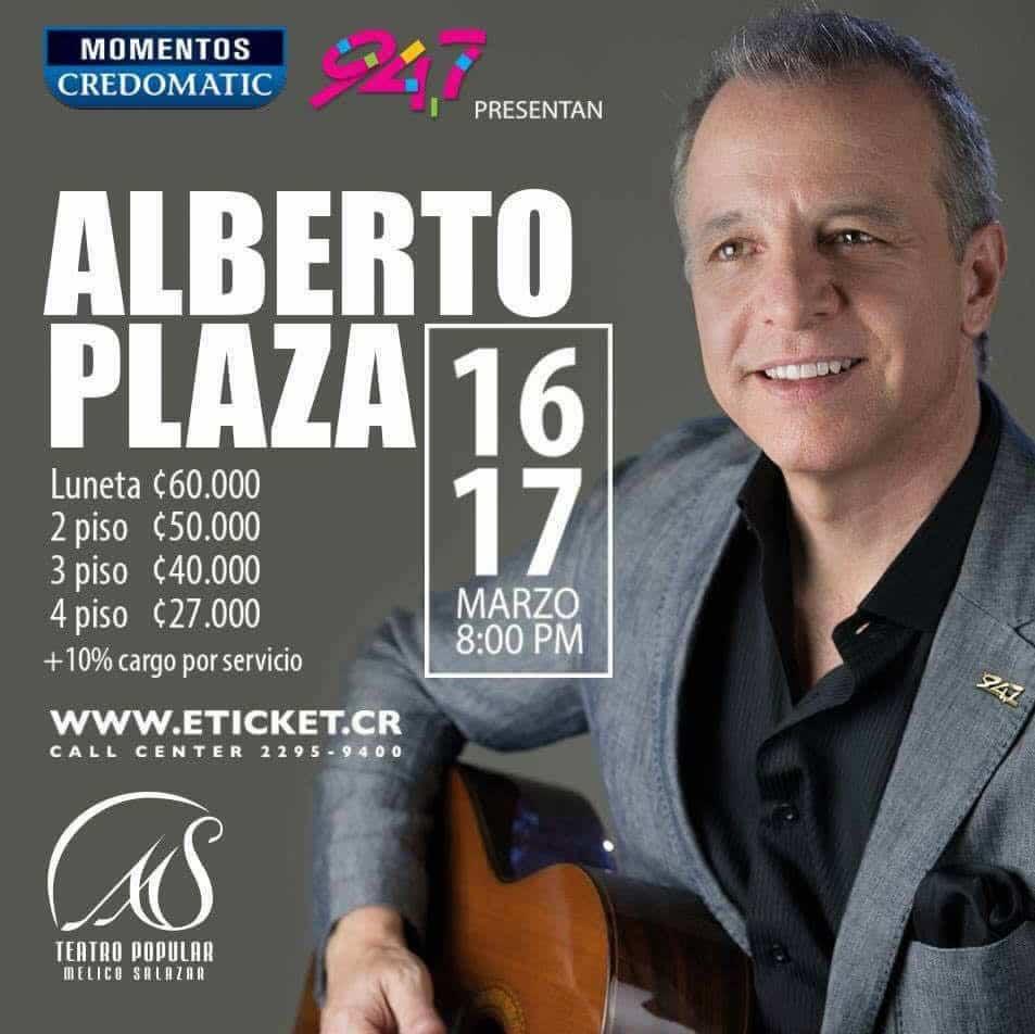 Alberto Plaza de Nuevo en Costa Rica 2017