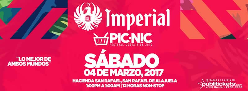 PICNIC 2017 Dos Tarimas y 12 Horas de Festival Musical