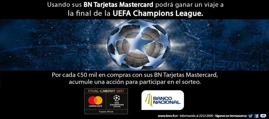 Tarjetas BN Mastercard Te Llevan a la Final UEFA Champions League 2017