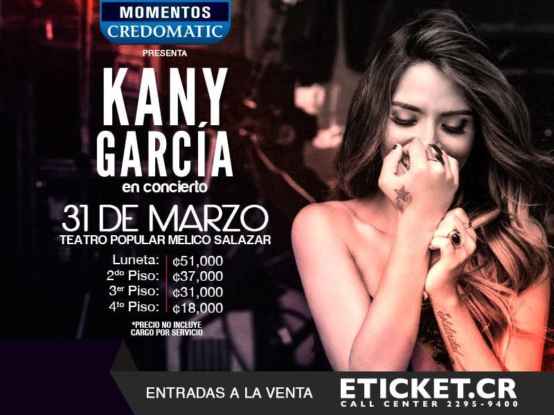Kany Garcia en Concierto Limonada Tour