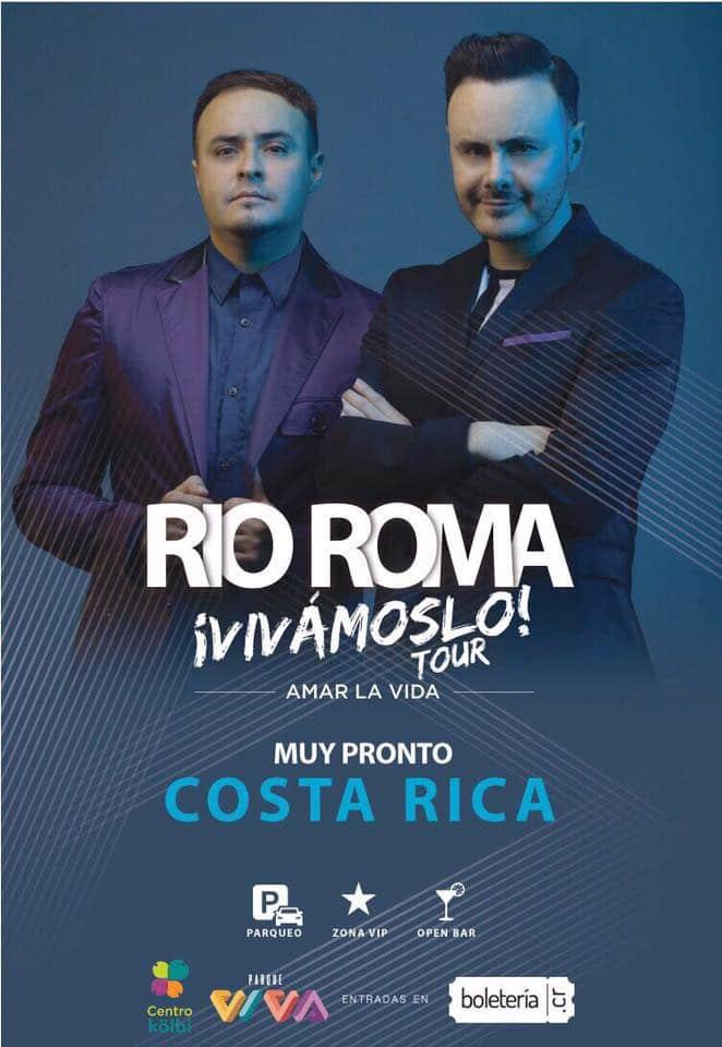 Río Roma en Costa Rica