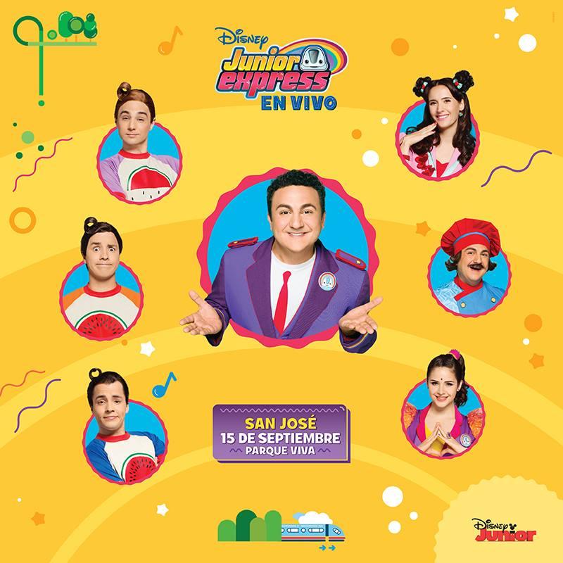 Disney Topa Junior Express de Nuevo en Costa Rica
