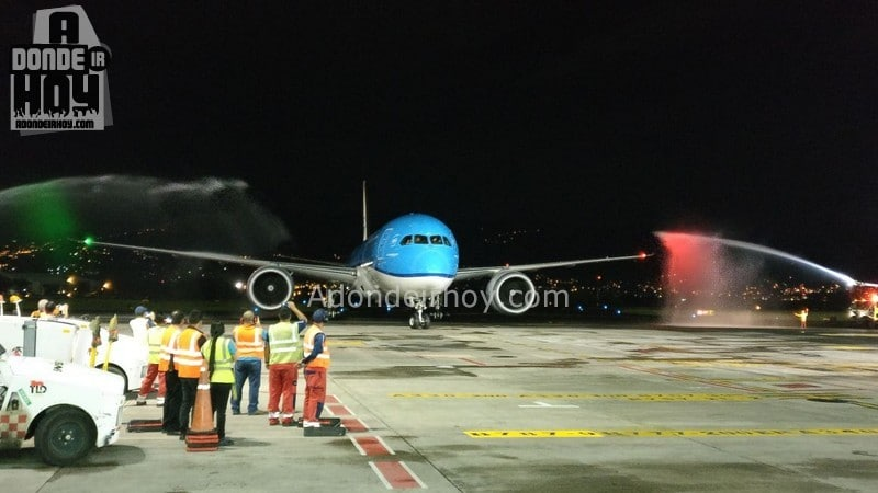 KLM Inaugura 2 Vuelos Semanales Directos a Holanda
