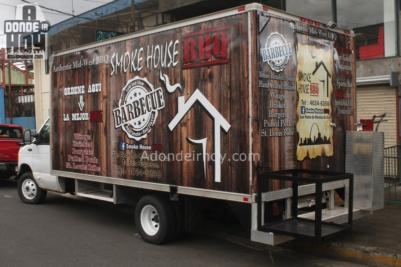 Food Truck Restaurante La Casita de Humo Un SmokeHouse BBQ