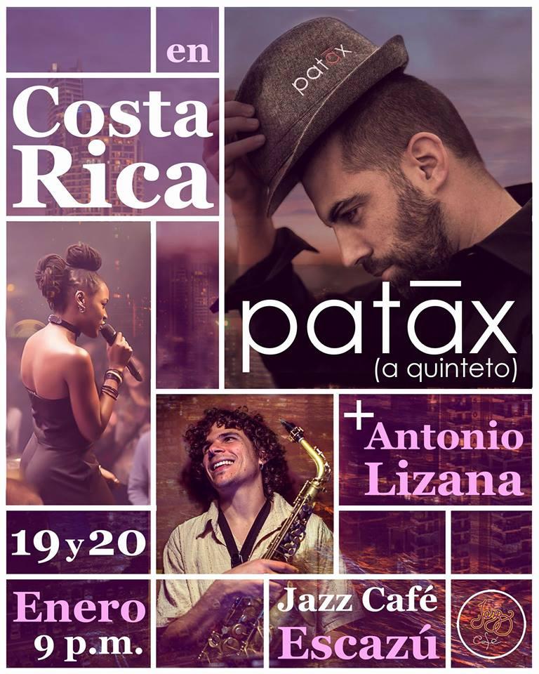 La Banda Fusión española Patáx vendrá a Costa Rica en Enero 2018