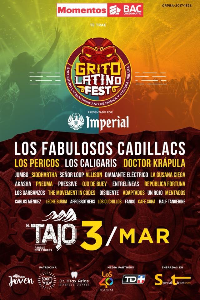 Grito Latino 2018 Trae A Los Fabulosos Cadillacs