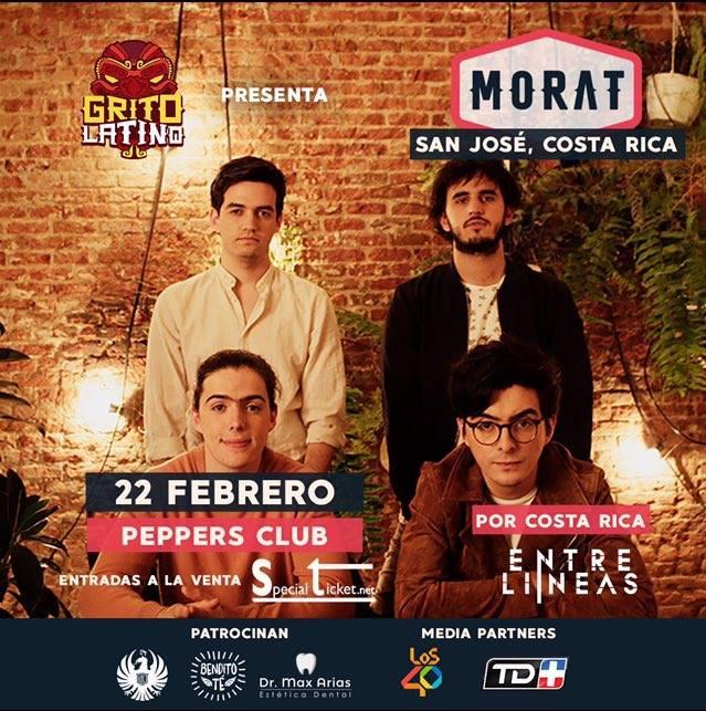 Concierto Morat Costa Rica 2018