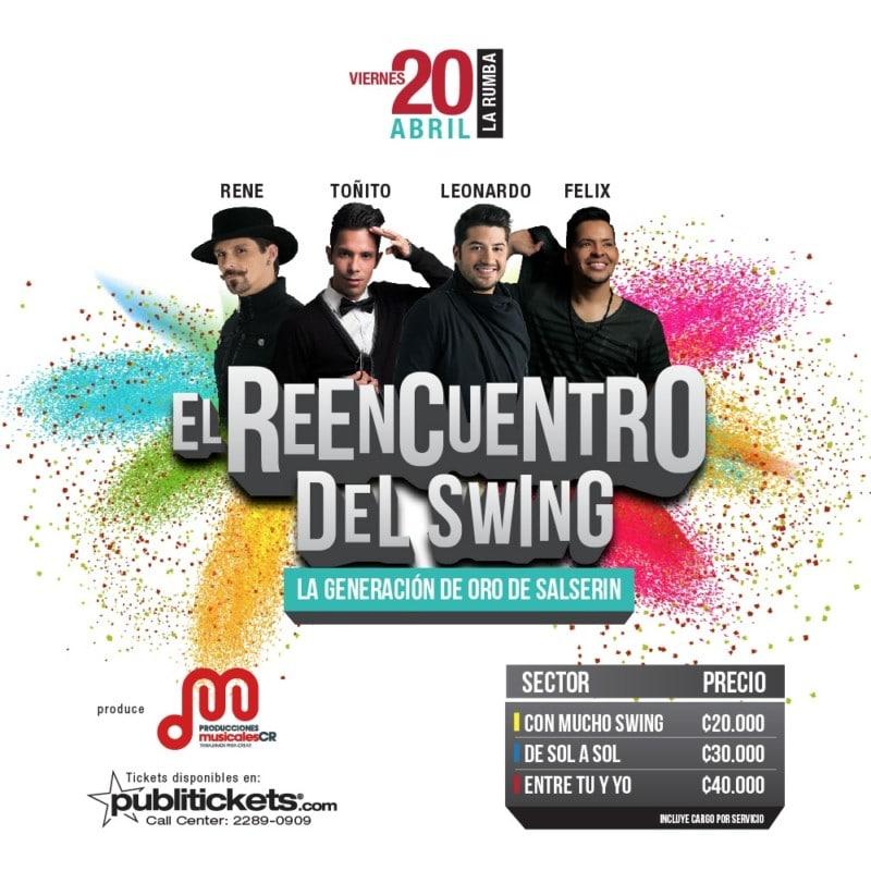Salserín Trae El Reencuento del Swing a Costa Rica