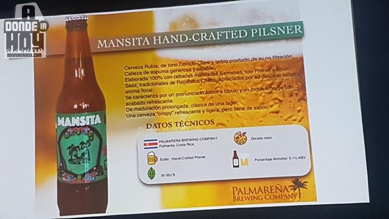 Mansita y Sabanero Cervezas Artesanales en el JW Marriott