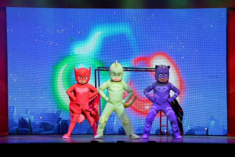 PJ MASKS - Héroes en Pijamas - En Vivo! Llega a Costa Rica
