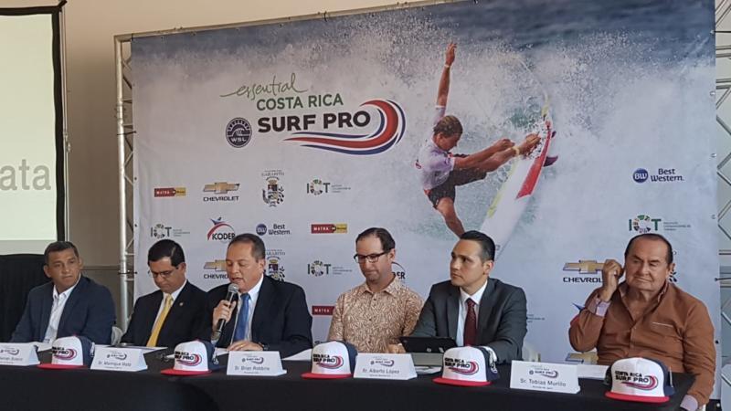 WSL Costa Rica 2018 trae lo mejor del surf a Jacó