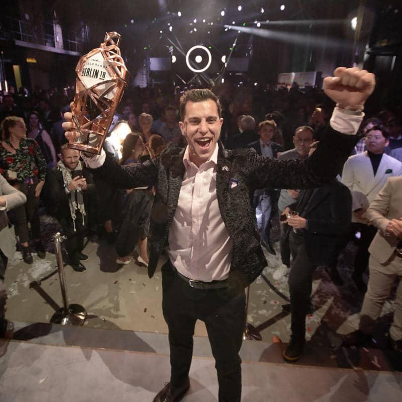 Orlando Marzo gana el World Class 2018 como el mejor bartender del mundo