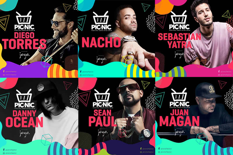 Festival PICNIC 2019 con 7 artistas internacionales