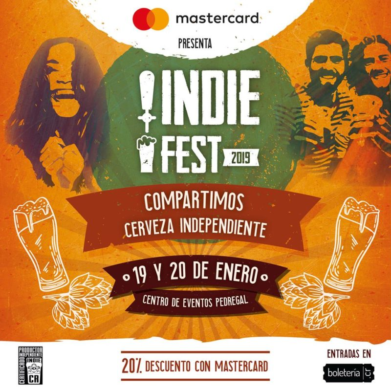Indie Fest 2019 le pone bebida, comida y buen ambiente al amante de la buena cerveza.