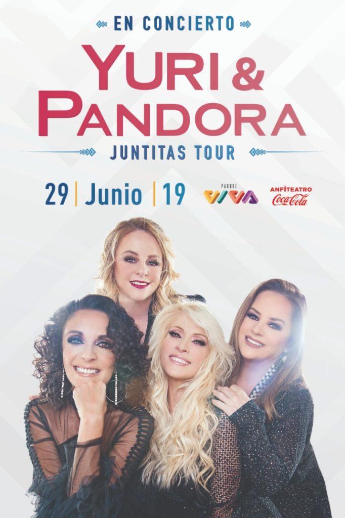 """Pandora y Yuri Llegan a Costa Rica en Concierto con """"Juntitas Tour"""""""