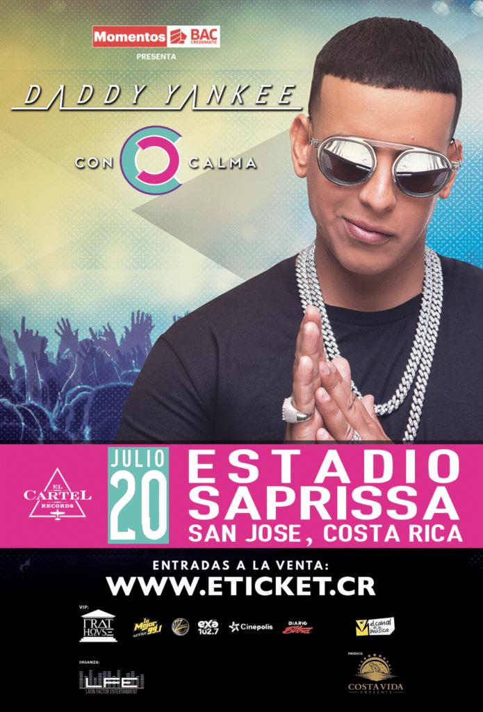Concierto de Daddy Yankee en Costa Rica