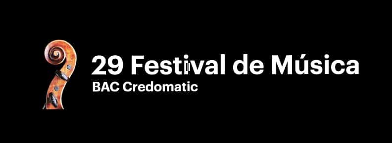 29 Festival de Musica Credomatic