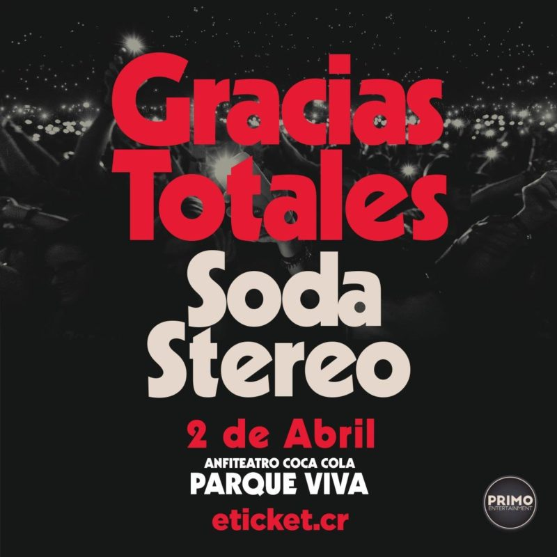 Soda Stereo en Costa Rica 2020