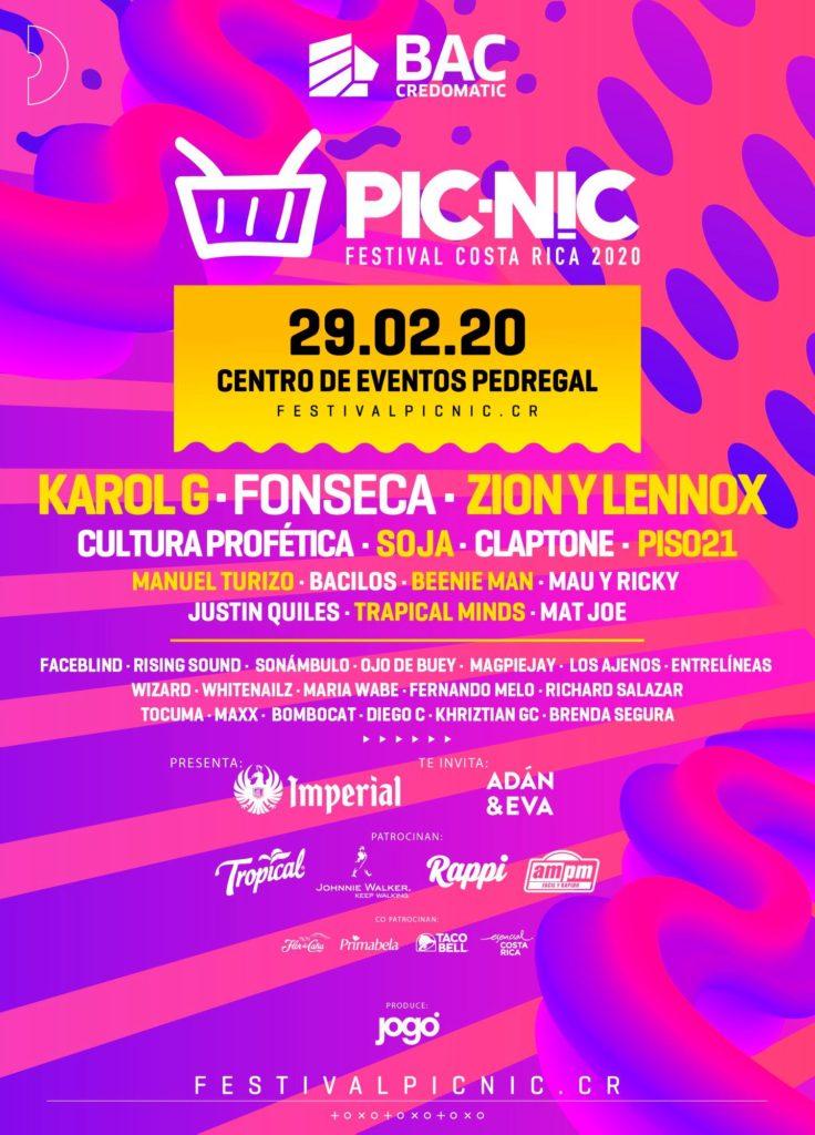 Sexta edición de Picnic Festival 2020