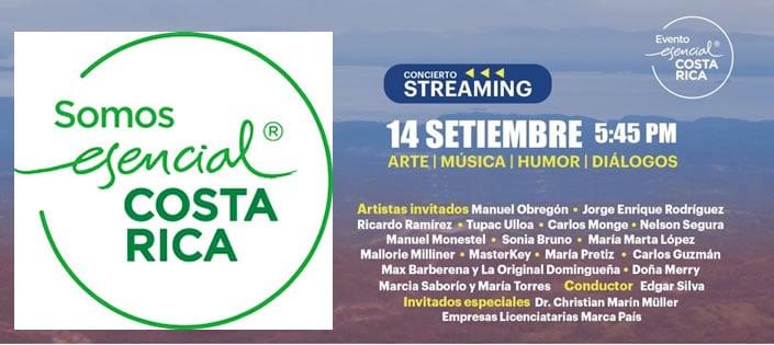 Esencial Costa Rica invita a entonar el Himno Nacional en el evento LO ESENCIAL DE COSTA RICA