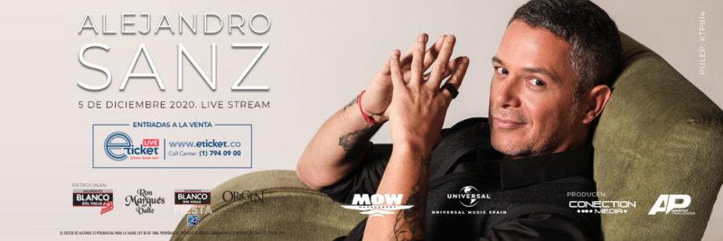 Alejandro Sanz vía Live Stream