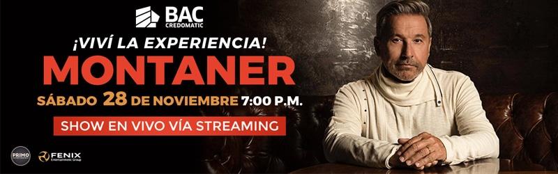 """Montaner compartirá """"Las canciones que amo"""""""