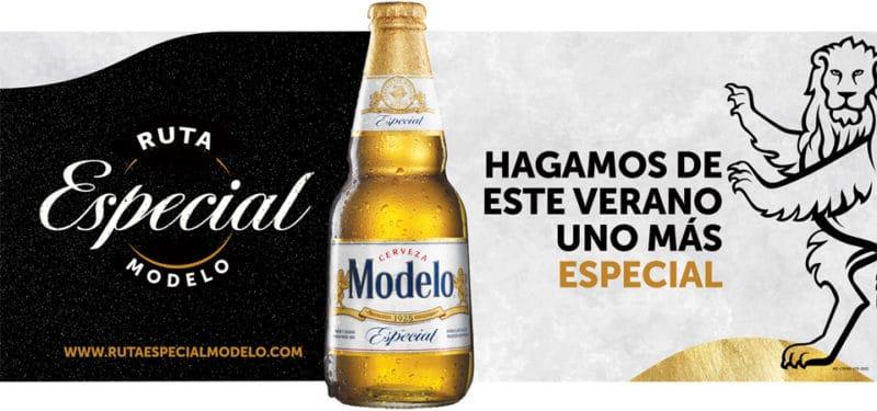 Cerveza Modelo promociona la Ruta Especial Modelo
