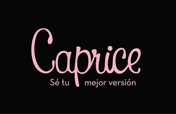"""Caprice lanzó su campaña """"Sé tú mejor versión"""""""