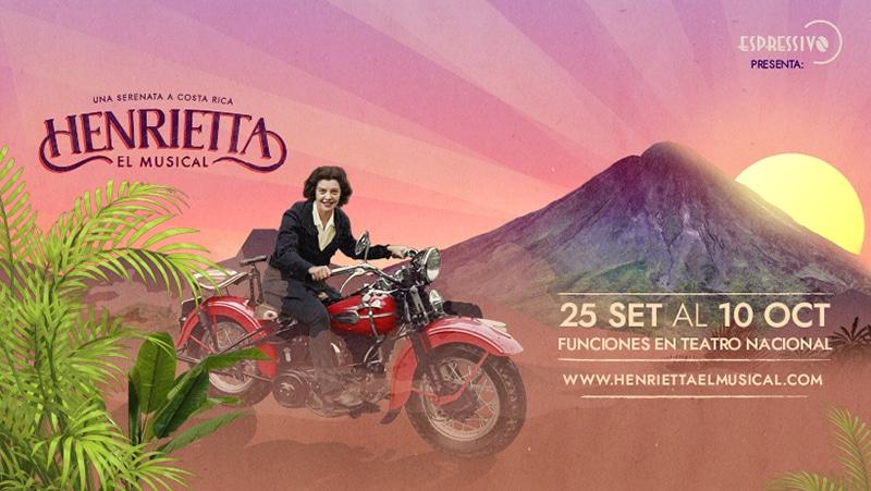 """Henrietta, el musical"": una serenata a Costa Rica"